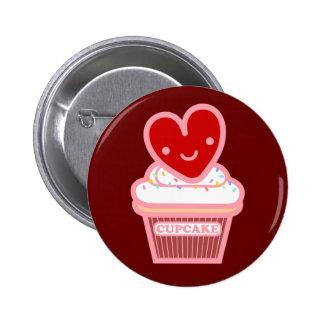 I Love Cupcake Button