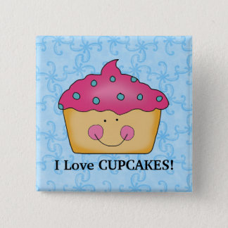 I Love Cupcakes button
