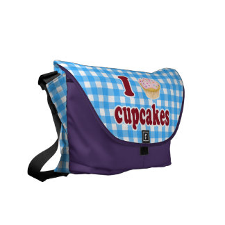 I Love Cupcakes Courier Bag