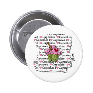 I Love Cupcakes  Gifts Apparel Collectibles 6 Cm Round Badge
