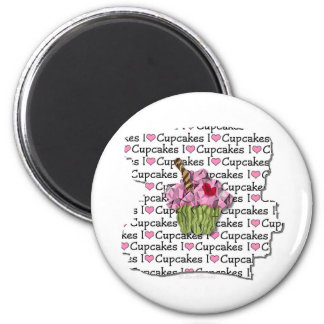 I Love Cupcakes Gifts Apparel Collectibles Refrigerator Magnets