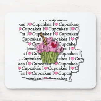I Love Cupcakes Gifts Apparel Collectibles Mouse Pads