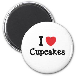 I love Cupcakes heart T-Shirt Magnet