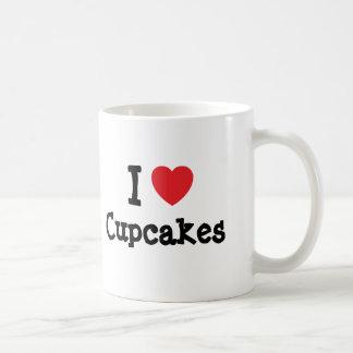I love Cupcakes heart T-Shirt Classic White Coffee Mug