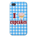 I Love Cupcakes iPhone 4/4S Case
