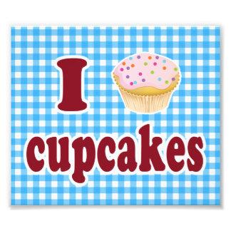 I Love Cupcakes Photograph