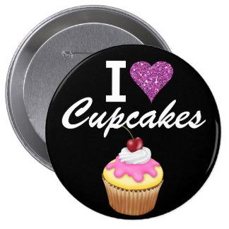 I Love Cupcakes - SRF 10 Cm Round Badge