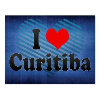 I Love Curitiba, Brazil Postcard