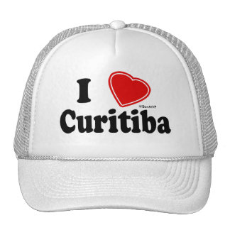 I Love Curitiba Trucker Hat