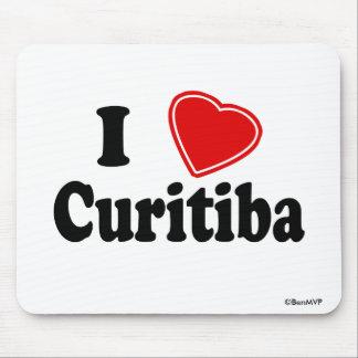 I Love Curitiba Mouse Pad