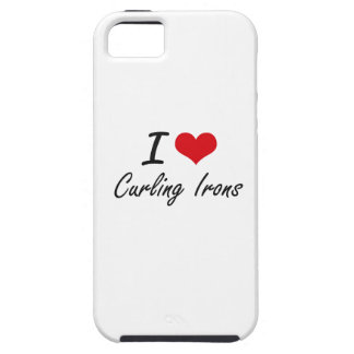 I love Curling Irons iPhone 5 Cases