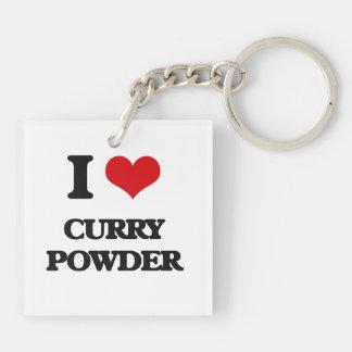 I love Curry Powder Acrylic Key Chains