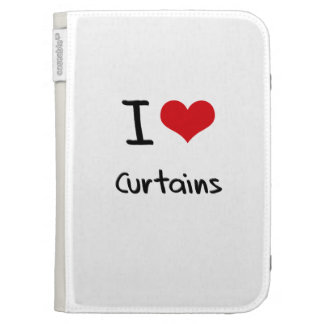 I love Curtains Kindle Cover