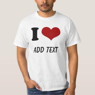 I Love Custom T-Shirt