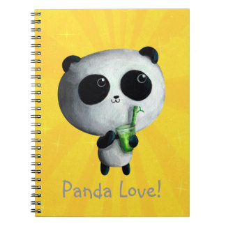 I love Cute Pandas Notebook