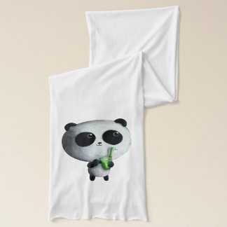 I love Cute Pandas Scarf