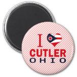 I love Cutler, Ohio Refrigerator Magnet