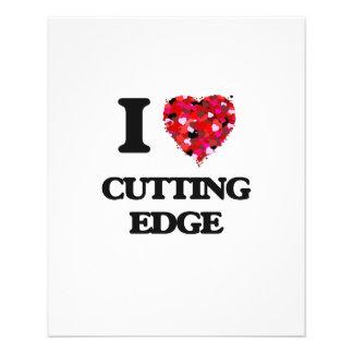 I love Cutting Edge 11.5 Cm X 14 Cm Flyer