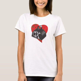 I LOVE CX - Dirty Heart and Cowbell Edition T-Shirt