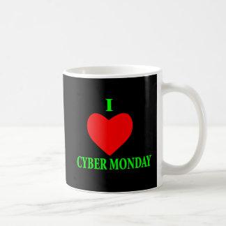 I LOVE CYBER MONDAY COFFEE MUG