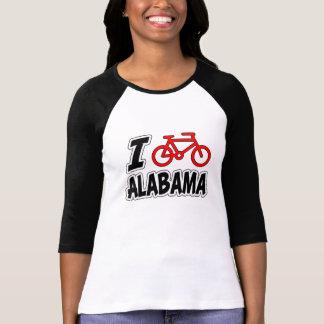 I Love Cycling Alabama T-shirt