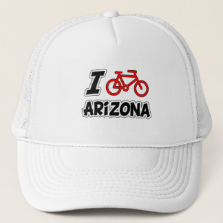 I Love Cycling Arizona Trucker Hat