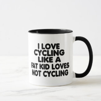 I Love Cycling Mug
