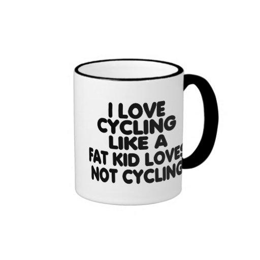 I Love Cycling Mug