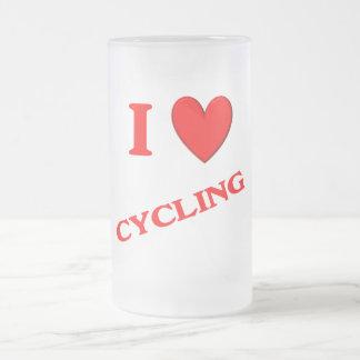 I Love Cycling Coffee Mugs