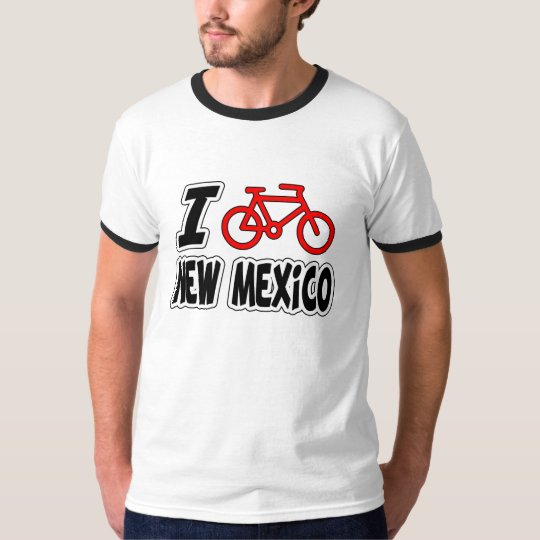 I Love Cycling New Mexico T-Shirt