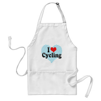 I Love Cycling Standard Apron