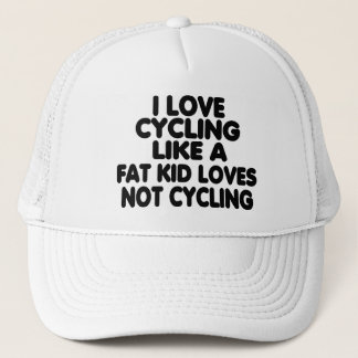 I Love Cycling Trucker Hat