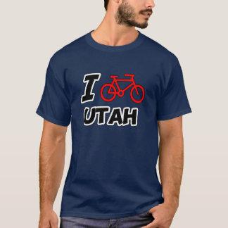 I Love Cycling Utah T-Shirt