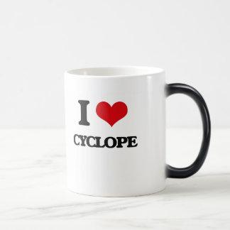 I love Cyclope 11 Oz Magic Heat Color-Changing Coffee Mug