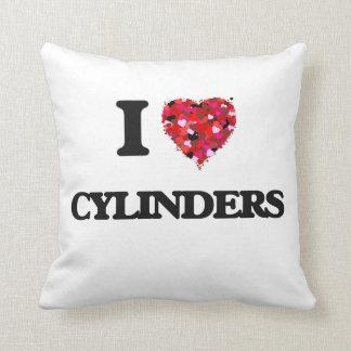 I love Cylinders Cushion