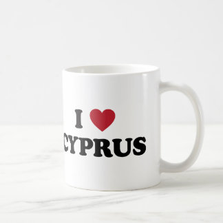I Love Cyprus Coffee Mug