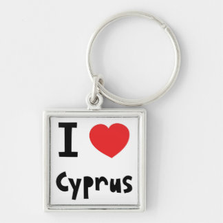 I love Cyprus Key Ring
