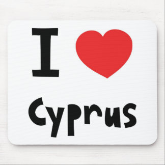 I love Cyprus Mouse Pad