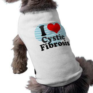 I love Cystic Fibrosis Dog Tshirt