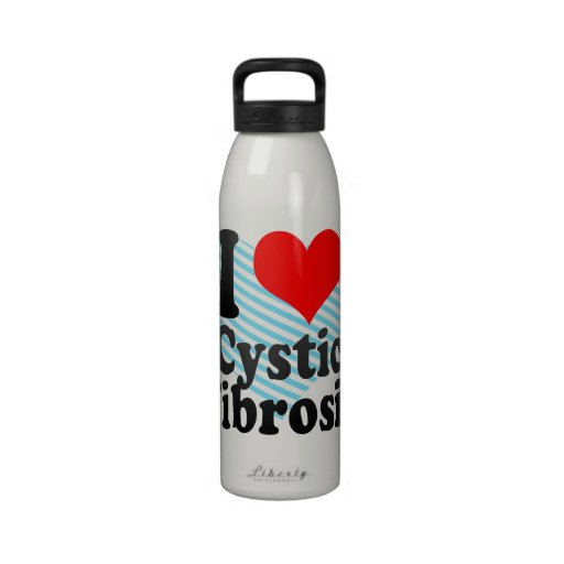 I love Cystic Fibrosis Reusable Water Bottles