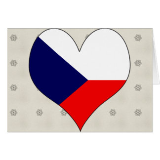 I Love Czech Card