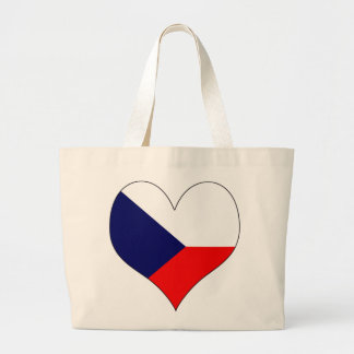 I Love Czech Tote Bags