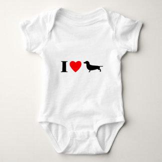 I Love Dachshunds Child's T-Shirt