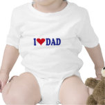 I Love Dad Baby Creeper