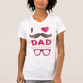 I Love Dad - Father's Day T-Shirt