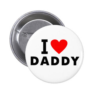 i love dad heart daddy text message father symbol 6 cm round badge