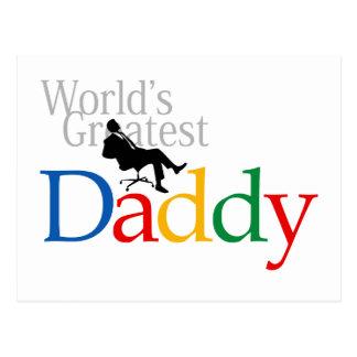 I love Dad T-Shirt Postcard