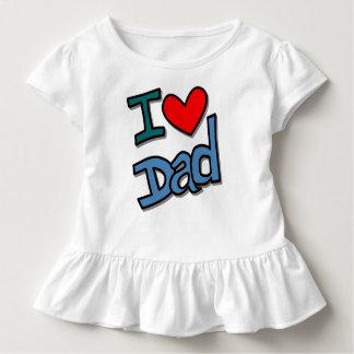 I love dad toddler T-Shirt