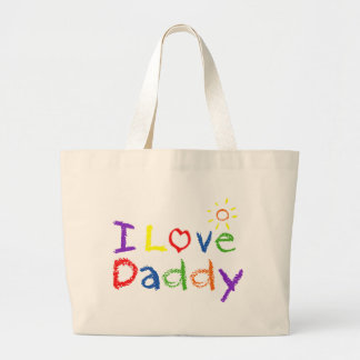 I Love Daddy Bags
