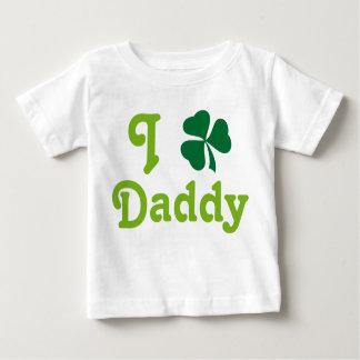 I Love Daddy Infant Shamrock Tee